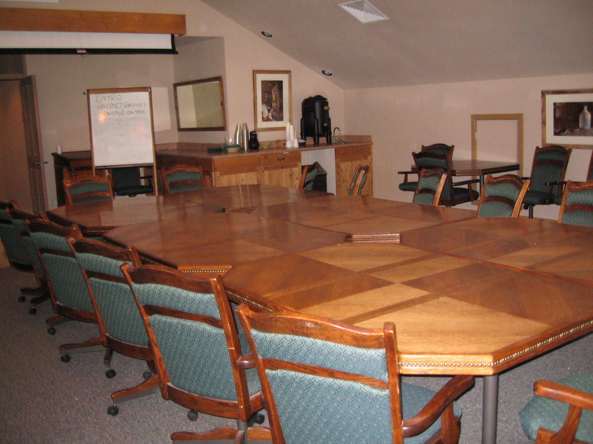 Corporate Retreat Conference Room