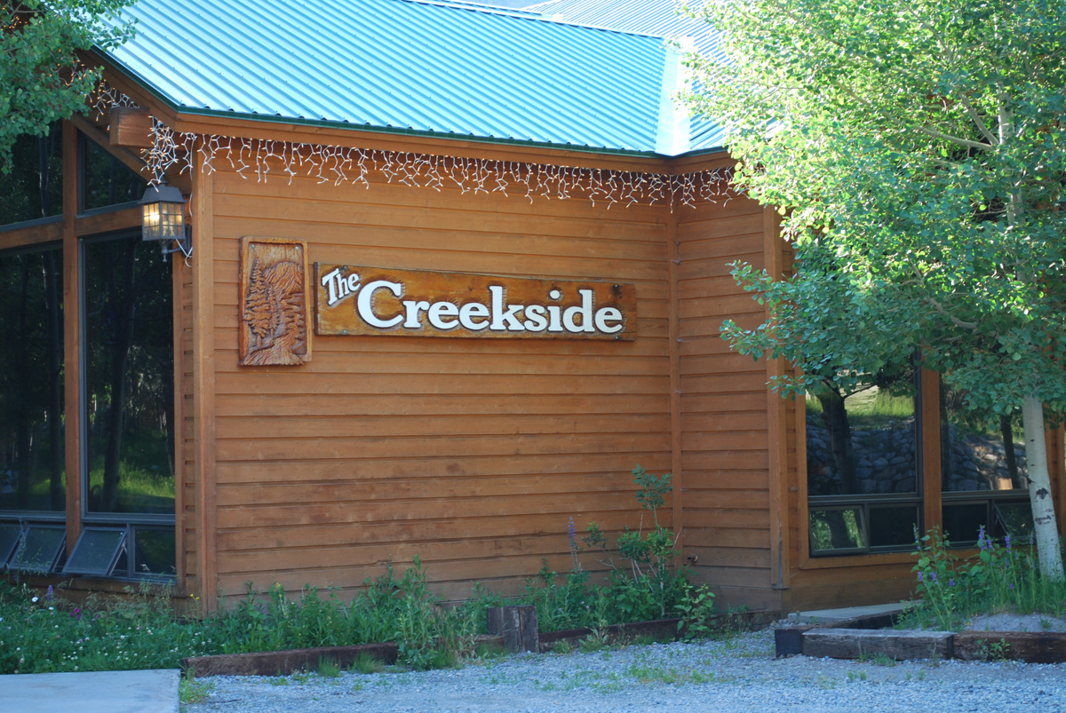 an Image of the Creekside Spa in June Lake, California